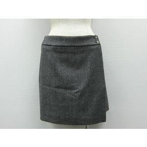 VICKY Mini Skirt Wool/Nylon Grey 2