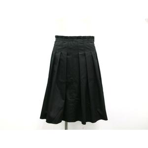 エムプルミエ(M-premier) レディース カジュアル フレアスカート ブラック