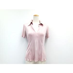 ポロシャツ アセテート ナイロン ピンクグレー 42 レディース レディース ヘアーアクセサリー