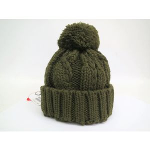 DSQUARED Wool Cap Green for kids