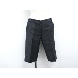LAPIS LUCE PER BEAMS Half Pants Wool/Nylon Gray Ladies 38