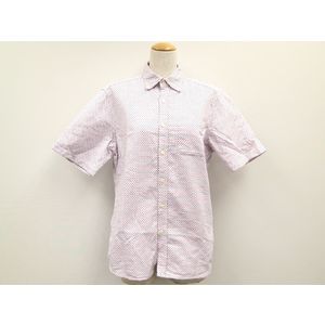 LAPIS LUCE PER BEAMS Dotted pattern Shirt Cotton White M Mens