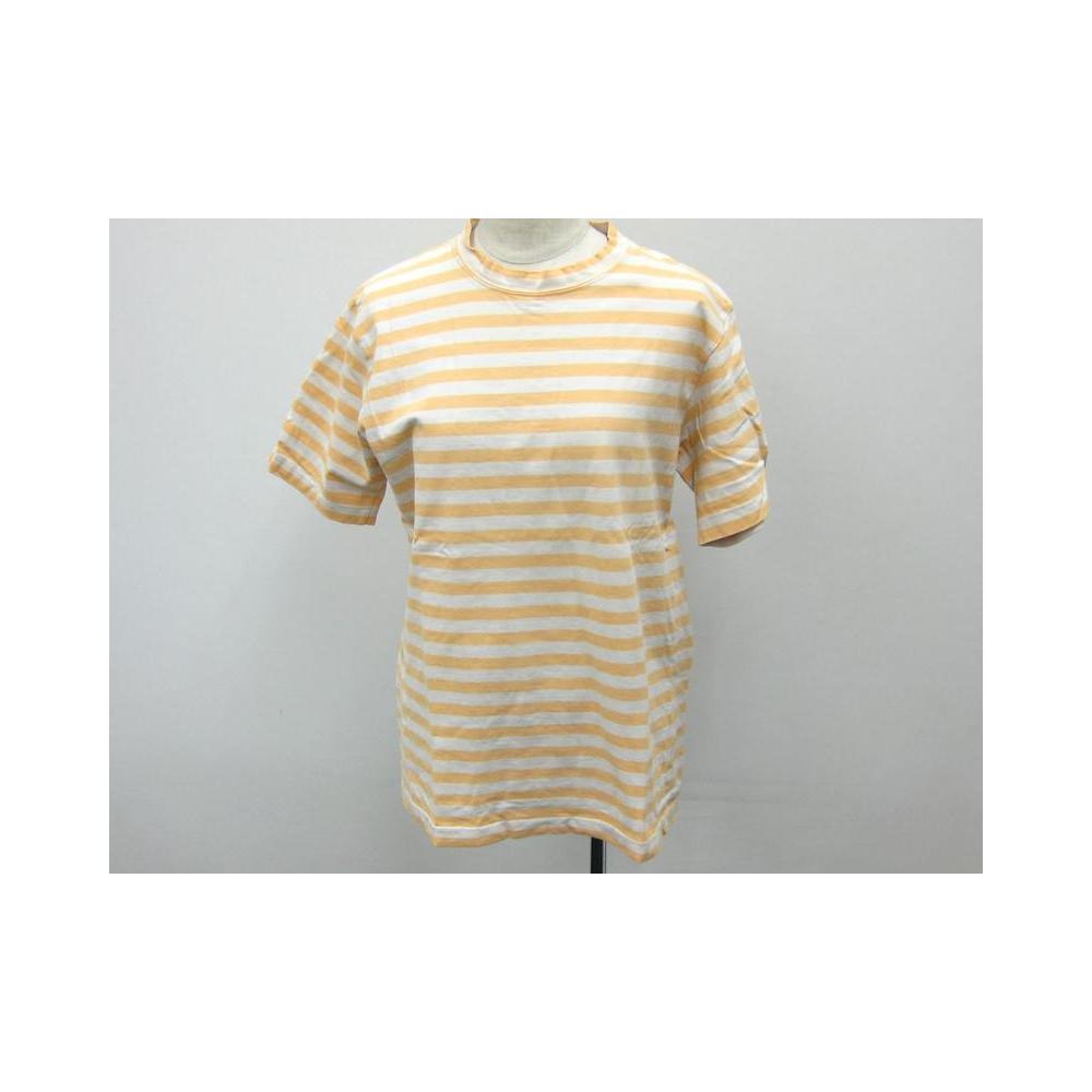 ビギ(BIGI) 半袖ボーダーTシャツ イエロー トップス