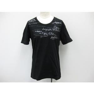 Mens Bigi  半袖Tシャツ コットン ブラック 02