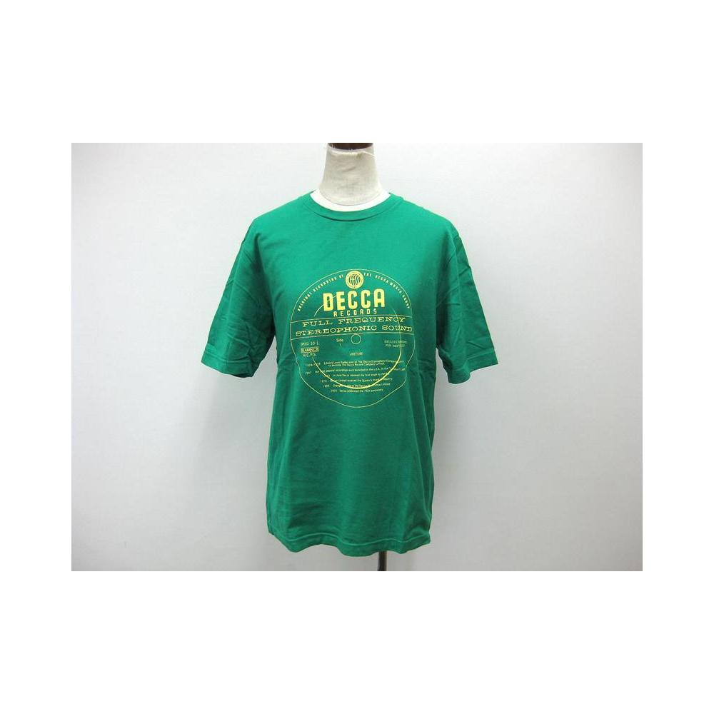 ビギ(BIGI) 半袖Tシャツ コットン グリーン M トップス