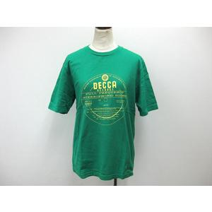 MENS BIGI Short Sleeve T-Shirt Cotton Green M