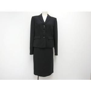 カルバンクライン スカートスーツ ポリエステル ブラック 4