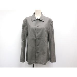 Calvin Klein COTTON JACKET GREY MENS M
