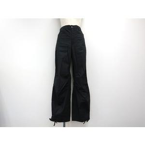 ディー・ケイ・エヌ・ワイ(DKNY) レディース ブラック ストレートパンツ