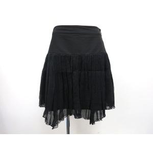 ディー・ケイ・エヌ・ワイ(DKNY) レディース フレアスカート ブラック