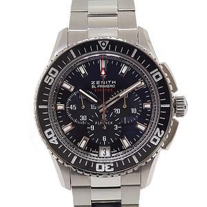 Zenith El Primero Stratos Flyback Chronograph 03.2060.405 / 21.M2060 Black (Black) Dial