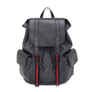 Gucci GUCCI Soft GG Supreme Canvas Backpack 495563 Men's PVC