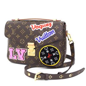 Louis Vuitton LOUIS VUITTON Pochette · Metis MM Monogram M43991 Brown / Multi Color Shoulder Bag