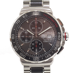 TAG Heuer mens watches formula 1 chronograph CAU 2011.BA 0873 gray face automatic winding
