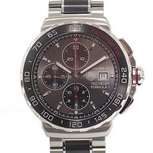 TAG Heuer mens watches formula 1 chronograph CAU 2011.BA 0873 gray face automatic winding