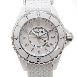 CHANEL Chanel Ladies Watch J12 H4656 Japan Not yet released Model White (White) Dial Quartz