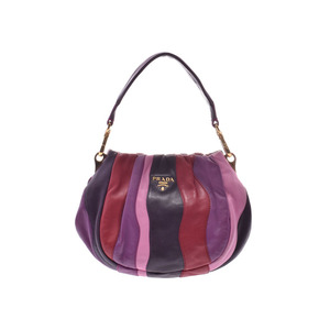 Prada 2 Way Mini Shoulder Bag Multi Color BN 1678 Ladies' Calf A Rank PRADA Galler Used Ginza