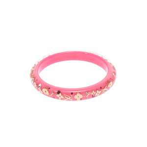 Louis Vuitton Brasserie Ankra Lucy PM Pink Ladies' Bracelet Bangle A Rank Beauty Item LOUIS VUITTON Used Ginza