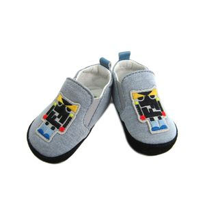 FENDI First Shoes for Baby Robot Light Blue BMR012-4AA-F0QB5