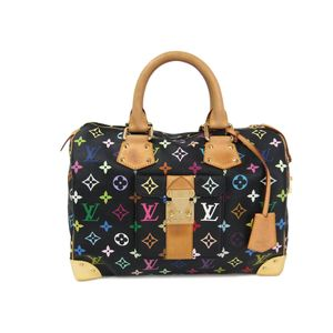 LOUIS VUITTON Speedy 30 Hand bag Monogram Multicolor Noir M92642