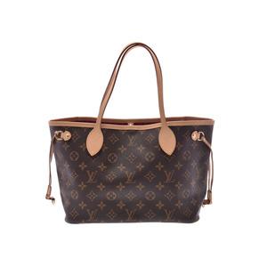 ルイ・ヴィトン(Louis Vuitton) ルイヴィトン モノグラム ネヴァーフルPM ブラウン ピヴォワンヌ M41245 レディース 本革 ハンドバッグ 未使用 美品 LOUIS VUITTON ポーチ付
