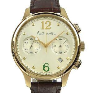 Authentic Paul Smith The Chronograph Men's Quartz Wrist Watch 6521-S087341