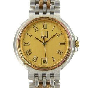 Genuine dunhill Elite 2 Row Men's Quartz Wrist Watch