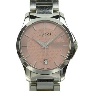 Genuine GUCCI Gucci G Timeless Ladies Quartz Wrist Watch 126.5