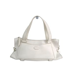 TODS Hand bag Leather White