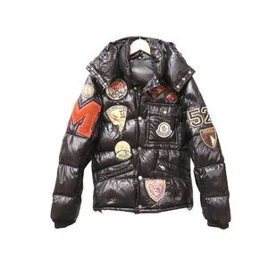 Moncler K2 Men's Down Jacket (Black)
