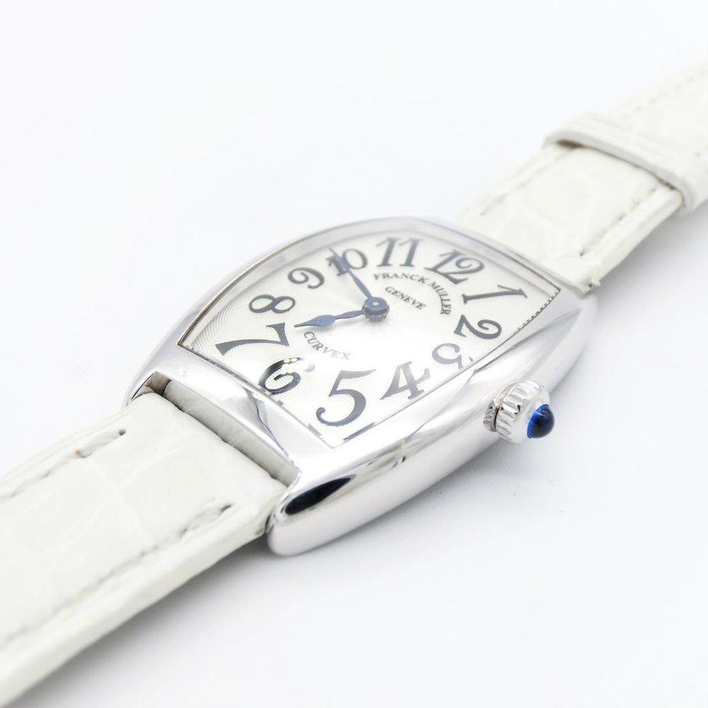 フランク・ミュラー(Franck Muller) トノウ カーベックス クォーツ K18ホワイトゴールド(K18WG) レディース 高級時計 1752QZ