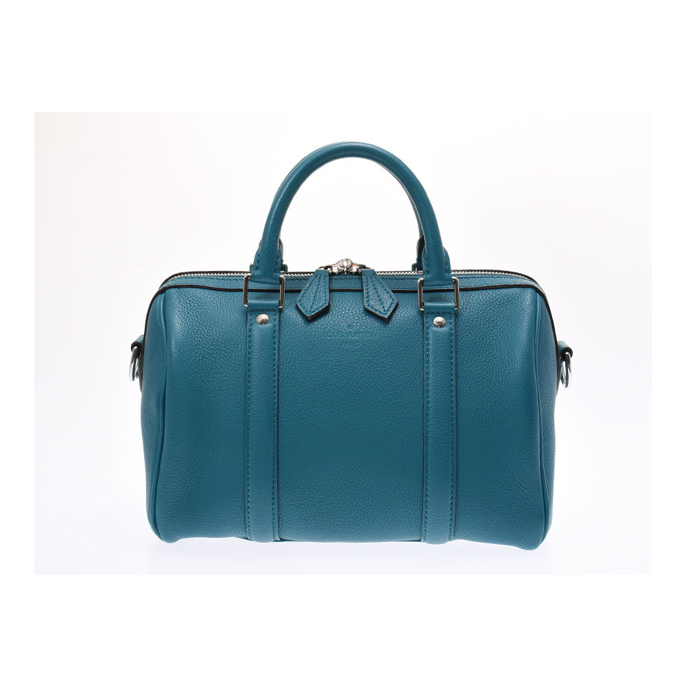 bb5c0ce8b2b1 Louis Vuitton Sophia Coppola SC Bag Mini Boston Blue Canard M48853 Women s  Genuine Leather 2 Way ...