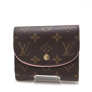 LOUIS VUITTON Louis Vuitton Monogram Portofoil-Arienne Tri-Fold Wallet M62037 Rose Valerie like new