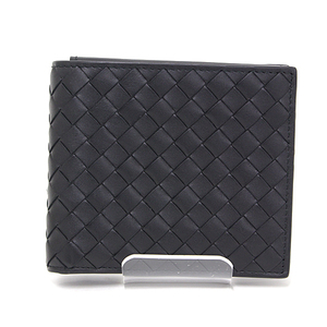 Bottega Veneta BOTTEGA VENETA Intrechart VN ID Case with Bi-fold Wallet Calf Nero Black 415892V46511000