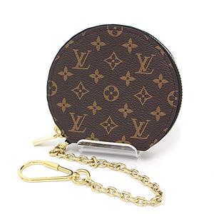 30da1d17061f61 Louis Vuitton LOUIS VUITTON Micro-Boat-Shapo Monogram Brown Black M63597 Coin  Purses Case