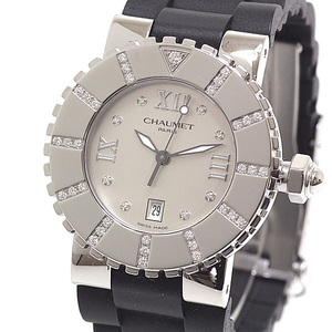 CHAUMET Chaumet Ladies Watch Class One W0621B-19A 8P Diamond Silver Dial Quartz