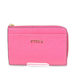 FURLA Full La Babylon L-shaped zipper compact wallet 922569 Pink