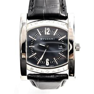 Bvlgari Assioma Quartz Stainless Steel Women's Luxury Watch AA39S