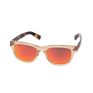 Trussardi Sunglasses Red Mirror Lens Tortoise-like Temple TR12929 RE Men's Ladies New TRUSSARDI with Case Ginzo