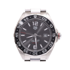 Tag Heuer Formula 1 Caliber 5 Gray dial WAZ2011.BA0842 Men's SS automatic winding watch A rank TAG Gala Used Ginzo