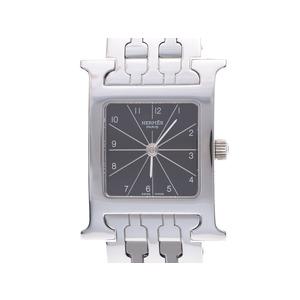 エルメス ラムシス 黒文字盤 HH1.210 レディース SS クオーツ 腕時計 Aランク HERMES 中古 銀蔵