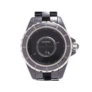 シャネル J12 インテンスブラック 黒文字盤 H4196 レディース 黒セラミック クオーツ 腕時計 Aランク CHANEL 箱 ギャラ 中古 銀蔵
