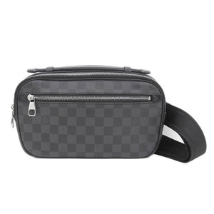 Genuine LOUIS VUITTON Louis Vuitton Graphite Ambreil Model: N41288 Bag Leather