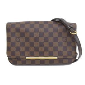 Genuine LOUIS VUITTON Louis Vuitton Damier Hockston 2WAY Clutch Model: N41 257 Bag Leather
