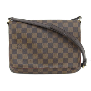 Genuine LOUIS VUITTON Louis Vuitton Damier Mustette Tango Bag Leather