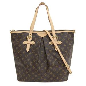 Genuine LOUIS VUITTON Louis Vuitton Monogram Palermo GM 2WAY bag leather