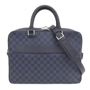 Genuine LOUIS VUITTON Louis Vuitton Damier Cobalt PDB 2WAY Business Bag Leather