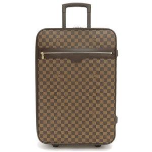Genuine LOUIS VUITTON Louis Vuitton Damier Pegas 55 bag leather