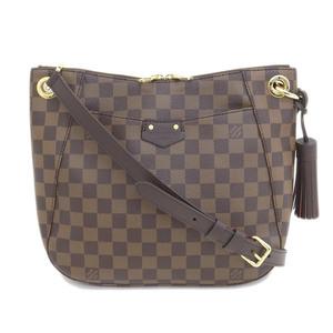 Genuine LOUIS VUITTON Louis Vuitton Damier South Bank Model: N 42 230 bag leather