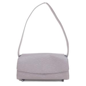 Genuine LOUIS VUITTON Louis Vuitton Epi Nocturne PM Purple Lilac Bag Leather